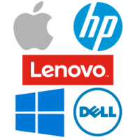 Apple | HP | Lenovo | Microsoft | Dell