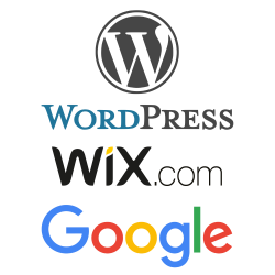 WordPress | Wix | Google | SEO