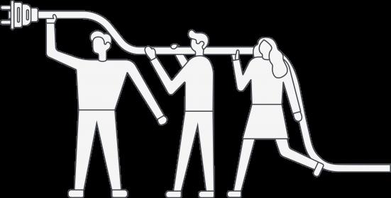 people-holding-plug